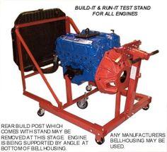 ford 302 5 0 chevy chrysler engine test stand plans cd engine test stands diy pinterest. Black Bedroom Furniture Sets. Home Design Ideas