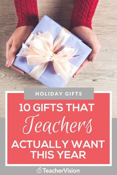 This school year has been like no other and has been a tough adjustment for everyone including teachers! So, what are some of the best ways for students' parents to show you their appreciation? Give something back on the holidays! So here are 10 gifts that teachers actually want this year.