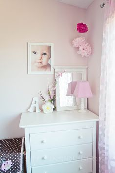 "Ashlyn's PINK Room… | A Step Inside ""Pink Wink"" paint color"