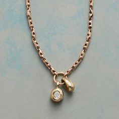 TOUCHSTONE DIAMOND NECKLACE: View 1