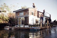 'Jerko' Is a Two-Story Houseboat