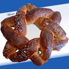 Star of David Challah Bread