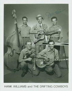 Hank Williams The Drifting Cowboys