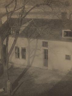 Alfred Cohen. Spring Session School, 1918..vintage platinum/palladium print.