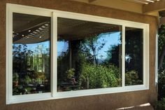Tuscany Series double horizontal sliding window