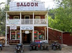 Old little town in Crown King, Arizona to go camping and off-roading. :) fun times
