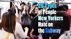 New York subway reality, perfectly captured on video...