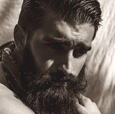 Joel Alexander. Joel Alexander, Beard Tattoo, Lee Jeffries, Bearded Men, Jon Snow, Che Guevara, Fictional Characters, Instagram, Sport