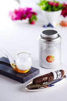 "Mocktail Smoky Time et Cigare ""La Havane with a frenchy twist"" par l'Institut Paul Bocuse #DilmahRHT #GlobalChallenge #teagastronomy #recipes #teas #foodporn"