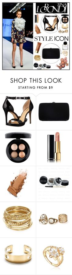 """Tina Lobondi 1"" by gaby-mil ❤ liked on Polyvore featuring MICHAEL Michael Kors, Sergio Rossi, MAC Cosmetics, Chanel, ABS by Allen Schwartz, Tiffany & Co., designer and tinalobondi"