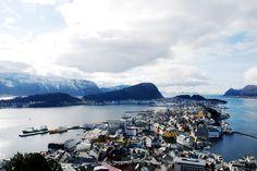 https://flic.kr/p/FscA3y | Ålesund view | Ålesund view.  Six months in Norway.