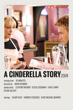 Alternative Minimalist Movie/Show Polaroid Poster - A Cinderella Story Iconic Movie Posters, Minimal Movie Posters, Iconic Movies, Film Posters, Good Movies, Music Posters, Disney Movie Posters, Teen Movies, Retro Posters