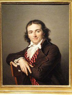 Portrait of Joachim Le Breton, Adelaide Labille-Guiard, 1795 - Nelson-Atkins Museum of Art