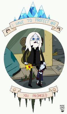 Simon & Marcy Adventure time by Micah-James
