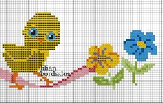 Gallery.ru / Фото #13 - 244 - markisa81 Cross Stitch Samplers, Cross Stitch Patterns, Baby Towel, Loom Patterns, Loom Beading, Diy And Crafts, Art Pieces, Easter, Embroidery