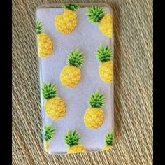 PINEAPPLE IPHONE 6/6S CASE New, on trend pineapple case. I'm in love with these, they really are the cutest cases ever. Embossed, Silicone, sturdy and well made. Offers/bundles welcome. 5% off 2 or more items/10% off 3 or items from this closet. My environment is clean, organized, pet/smoke free. Accessories Phone Cases