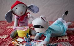 Catalina loves to play with her friends!  http://www.treehousekidandcraft.com/products/catalina-mouse