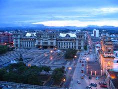 El Parque Central, Ciudad de Guatemala