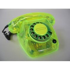 neon see through telephone Aesthetic Rooms, Retro Aesthetic, Vintage Phones, Old Phone, Web Design, Neon Green, Shades Of Green, Picture Wall, Wall Collage