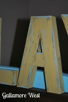 how to make paper mache letters