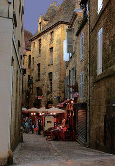 Sarlat-la-Canéda, France Dream place....