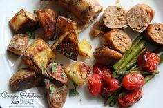 Crispy Potatoes and Sausage