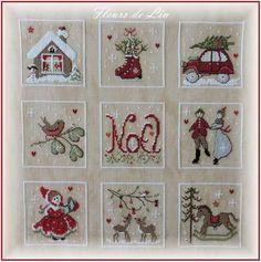 Noël nostalgique, carré 7 et 9                                                                                                                                                                                 Plus