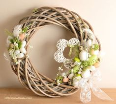 Result image for wicker wreath ideas
