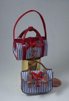Miniaturas bolsos: Bolsos estilo marinero