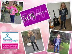 NU ALLES 50 % KORTING  www.kinderkledingnodig.nl  Deel dit bericht, zodat ook je vrienden kunnen profiteren van deze korting