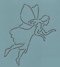 """Fairy #2_8"""" - The Stencil Company"""