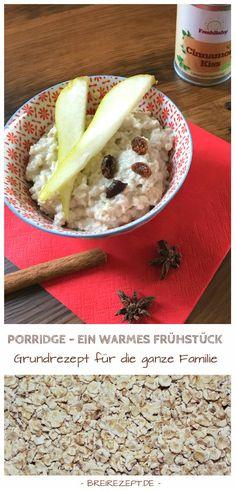Porridge (Haferbrei) Grundrezept