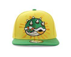 143de72fb3a BOWSER Super Mario Bros Snapback Baseball Cap by True Heads 6 Panel Cap