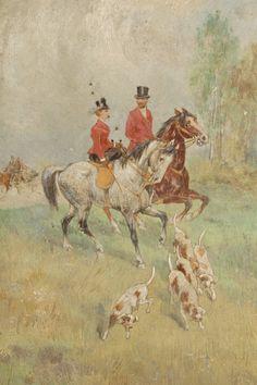 Tadeusz Rybkowski - Para na polowaniu