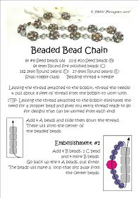 Bead Mavens: Easy Beaded Bead Chain (page 1 of 3 pages).