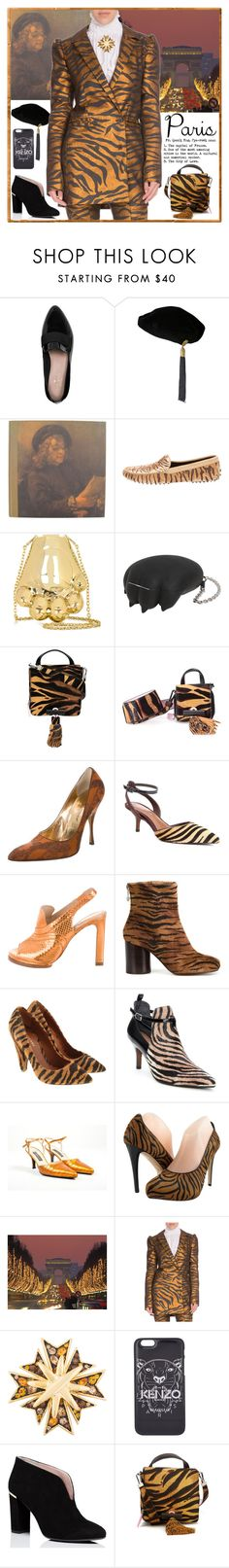 """""""I Love Paris in the Fall"""" by yours-styling-best-friend ❤ liked on Polyvore featuring Kate Spade, Yves Saint Laurent, Tod's, Kenzo, Dolce&Gabbana, Donald J Pliner, Maison Margiela, Mulberry, Casadei and Jerome C. Rousseau"""