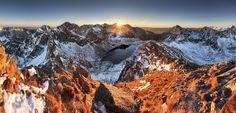 Koprovsky peak - Tatras - Koprovsky peak - Tatras in Slovakia. Hiking Routes, Go Hiking, Bratislava, Valley Stream, Pathways, Alps, Amazing Nature, Trekking, Mount Everest