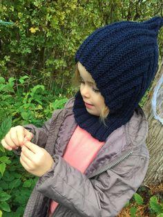 Knitting For Kids, Baby Knitting Patterns, Crochet Baby, Knit Crochet, Pixie, Free Pattern, Diy And Crafts, Winter Hats, Balaclava