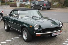 Buy this second hand FIAT in complete serenity thanks to Reezocar's support. This FIAT petrol automatic from 1979 which displays km is at a price of is sold in Herten Allemagne, we take care of its inspection, delivery and registration if necessary. Fiat 124 Spider, Used Cars, Convertible, Porsche, Automobile, Random, Vehicles, Instagram, Car