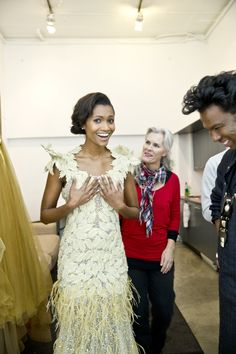 Behind the scenes with POND's and David Tlale Girls Dresses, Flower Girl Dresses, Ponds, Marie Claire, Backstage, Behind The Scenes, Summertime, Glow, David