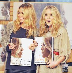 Olsen Twins Smiling