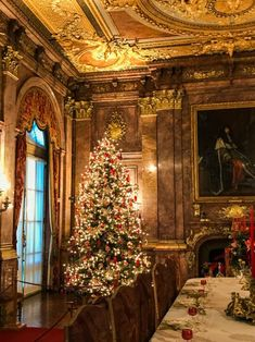 The interiors of Marble House, a property of the Preservation Society of Newport County, are so majestic and of such sheer grandeur that they truly deserve their own post. Marble House, Marble Stairs, Gothic Room, American Mansions, Christmas Interiors, Holiday Wallpaper, Holiday Invitations, Entry Hall, Beautiful Architecture
