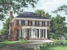 Image detail for -Colonial House Plans   california homes sales