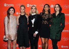 "Lucy Hale, Sasha Pieterse, Ashley Benson, Shay Mitchell, and Troian Bellisario attend the ""Pretty Little Liars"" Season Finale Screening."