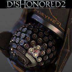Typewriter Dishonored 2, Eric Pira on ArtStation at https://www.artstation.com/artwork/wbxbw