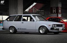 """トヨタ KE70 カローラ """"カロバン"""" // 富士 スピードウェイ Toyota KE70 Corolla 3-Door // at Fuji Speedway"""