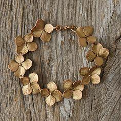 Hydrangea Petals Bracelet