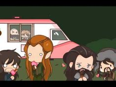 The Hobbit: Accidentally in Kiliel This is the cutest thing!!!!!
