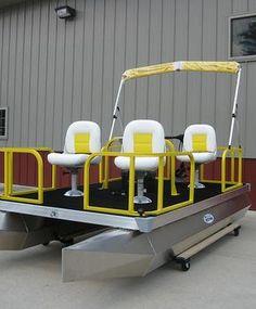 Mitey-toon - Mini Pontoon Boats | Photos & Videos
