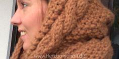 Toller Loopschal mit Kapuze für kalte Tage